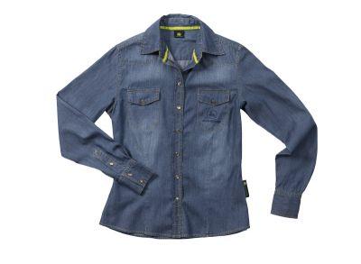 Denim blouse voor vrouwen