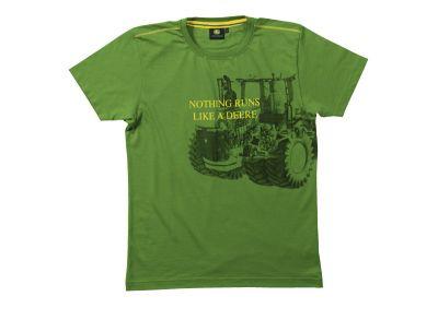 """Grön T-shirt: """"Technics"""""""