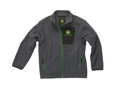 Dark Grey Children's Fleece Jacket
