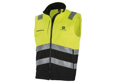 High Visibility Softshell Vest