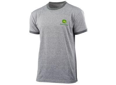 Graues, atmungsaktives T-Shirt