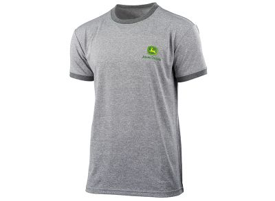 T-shirt sportiva grigia