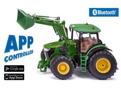 Tractor 7310R con mando Bluetooth