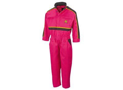Pinkfarbener Overall für Mädchen