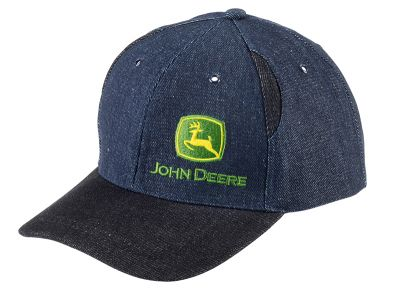 Two-Tone Denim Cap