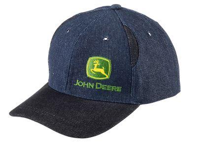 Two-Tone Denim Cap