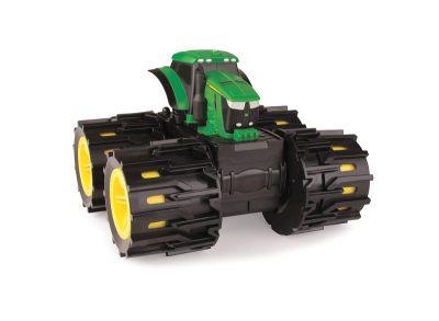 Mini tractor John Deere Monster Treads con ruedas gigantes