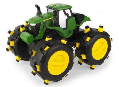 John Deere Monster-Traktor mit robusten Reifenprofilen