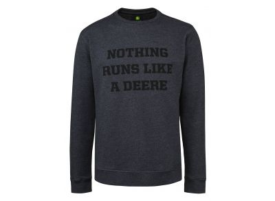 Sweat-shirt « Nothing runs like a Deere »