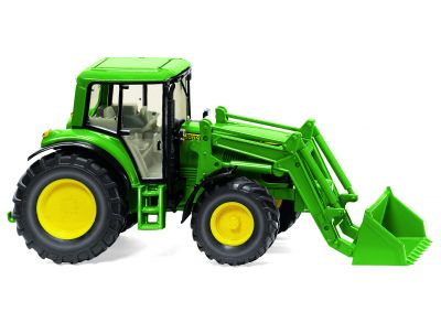 John Deere 6920S traktor med frontlastare