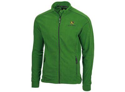 Zielona kurtka zmikrofibry