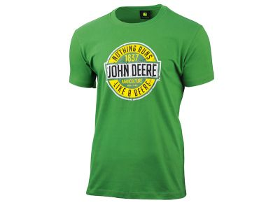 "Koszulka znapisem ""Nothing Runs Like a Deere"""