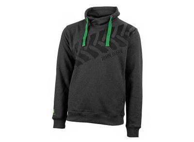 Sweatshirt met hoge kraag 'Bandensporen'