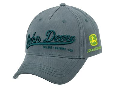 Basecap John Deere 3D anthracite