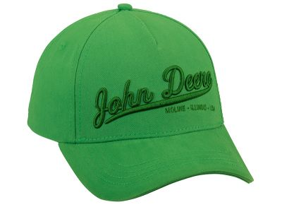 Basecap John Deere 3D green