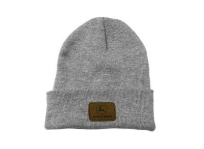 John Deere-Wollmütze, Melange-Grau