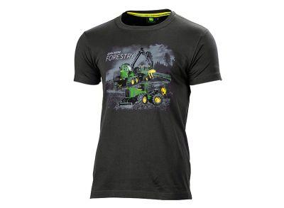 T-shirt 'bosbouwmachines'