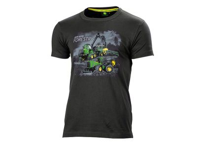 T-Shirt 'Forestry Machines'