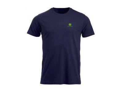 T-shirt con logo stampato sul davanti e sulla schiena