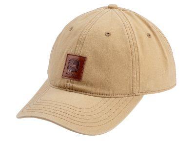 Leather patch Cap John Deere
