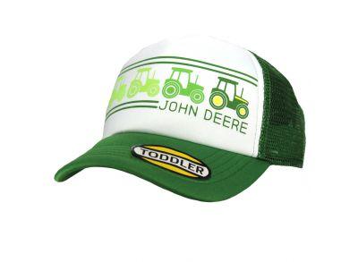 John Deere-pet met gaas aan de achterkant voor kinderen