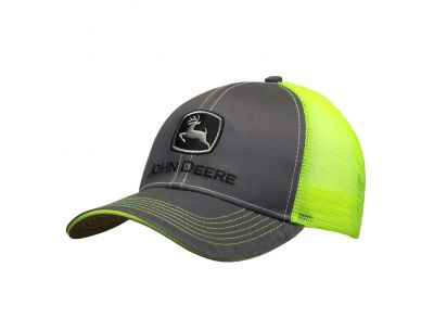Trademark mesh back cap John Deere