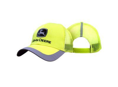 High Viz mesh back cap John Deere