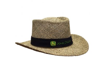 Gambler Straw Hat John Deere